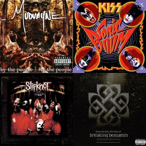 Heavy Metal (Slipknot, 5FDP, Breaking Benjamin)
