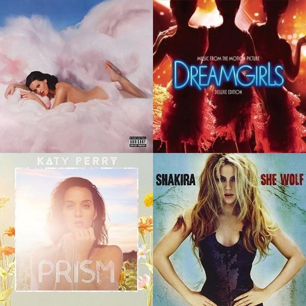 Shakira, Katy Perry