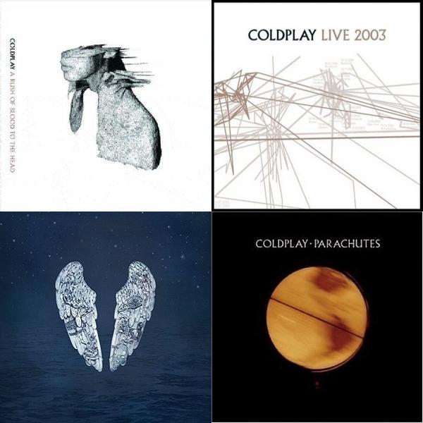 Coldplay favorite Songs