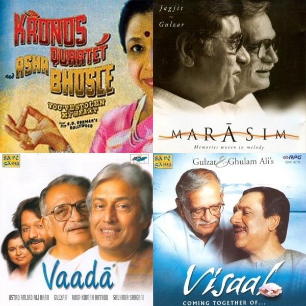 Tarz, Gulzar, Pancham, Kishore, and Shobha Gurtu