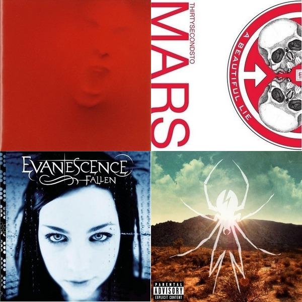 Alternative rock and pop music