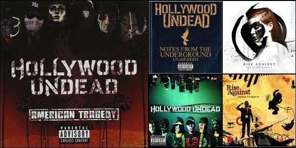 Hollywood Undead, etc