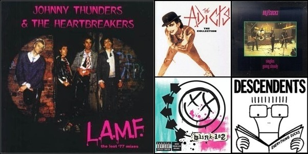 Punk rock love songs