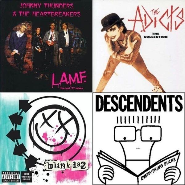 Punk rock love songs