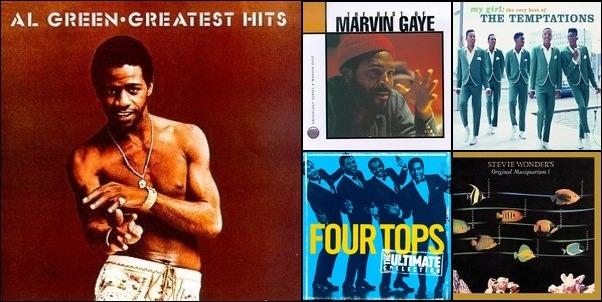 70 's R&B Favs