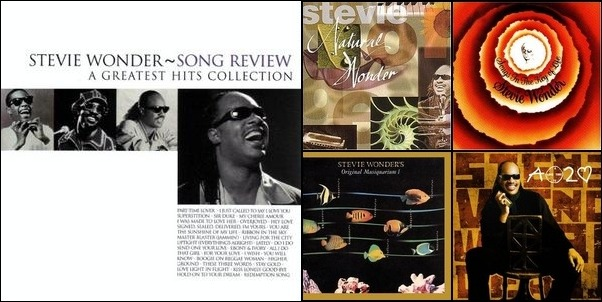 Stevie Wonder: Songs In the Key of Stevie