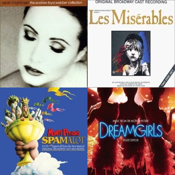 On and Off Broadway Show Tunes