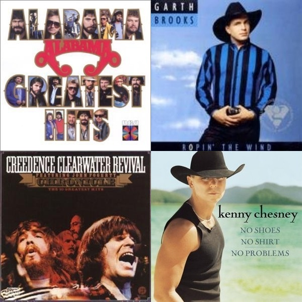 Scotts mix of Country and Classic Rock