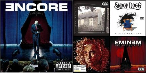 Eminem songs!!!!