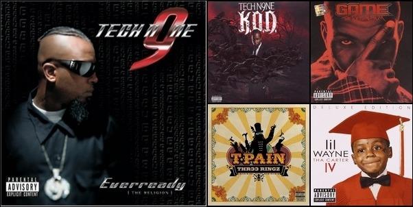 my rap list